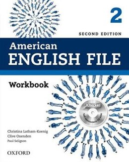 Book American English File: Level 2 Workbook with iChecker by Christina Latham-Koenig