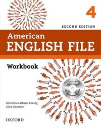 American English File: Level 4 Workbook with iChecker