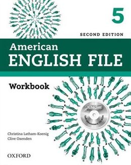 Book American English File: Level 5 Workbook Without Key Pack by Christina Latham-Koenig