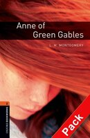 Oxford Bookworms Library, New Edition: Level 2 (700 Headwords) Anne Of Green Gables Audio Cd Pack
