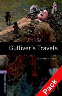 Book Oxford Bookworms Library, New Edition: Level 4 (1,400 headwords) Gullivers Travels Audio CD Pack by Jennifer Bassett