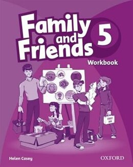 Book Family and Friends 5: Workbook by Oxford