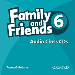Book Family and Friends 6: Class CD by Oxford