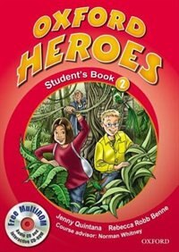Book Oxford Heroes: Level 2 Student Book with MultiROM Pack by Jenny Quintana