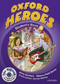 Book Oxford Heroes: Level 3 Student Book and MultiROM Pack by Jenny Quintana