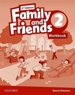 Book Family and Friends: Level 2 Workbook by Naomi Simmons