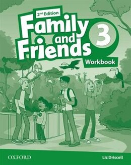 Book Family and Friends: Level 3 Workbook by Naomi Simmons