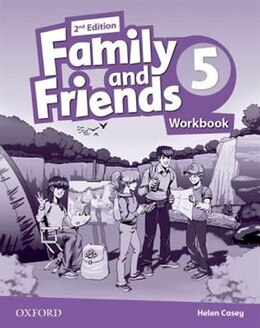Book Family and Friends: Level 5 Workbook by Helen Casey