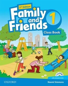 Book Family and Friends: Level 1 Class Book and MultiROM Pack by Naomi Simmons