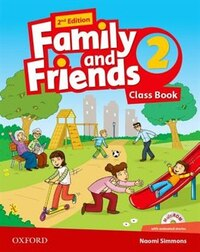 Family and Friends: Level 2 Class Book and MultiROM Pack