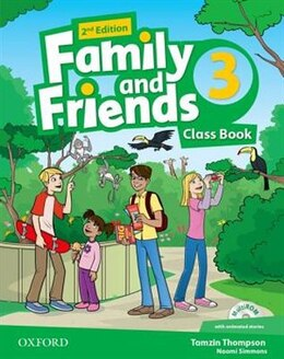 Book Family and Friends: Level 3 Class Book and MultiROM Pack by Naomi Simmons