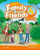 Family and Friends: Level 4 Class Book and MultiROM Pack
