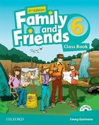 Family and Friends: Level 6 Class Book Pack