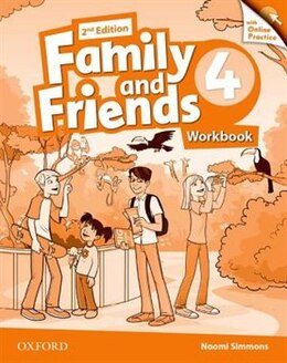 Book Family and Friends: Level 4 Workbook and Online Skills Practice Pack by Naomi Simmons
