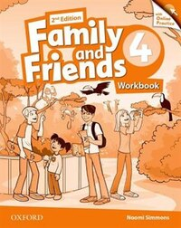 Family and Friends: Level 4 Workbook and Online Skills Practice Pack