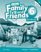 Family and Friends: Level 6 Workbook and Online Skills Practice Pack