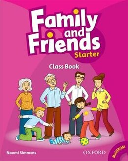 Book Family and Friends: Starter Class Book plus Student Multi-ROM by Naomi Simmons