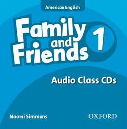 Book Family and Friends American Edition: Level 1 Class CD by Naomi Simmons