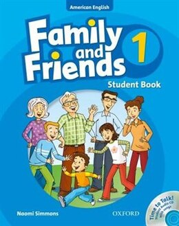 Book Family and Friends American Edition: Level 1 Course Book and Student CD Pack by Naomi Simmons