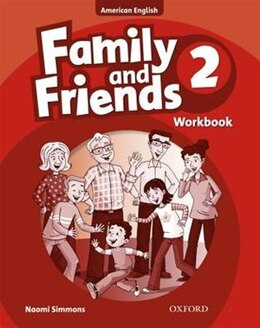 Book Family and Friends American Edition: Level 2 Workbook by Naomi Simmons