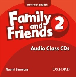 Book Family and Friends American Edition: Level 2 Class CD by Naomi Simmons