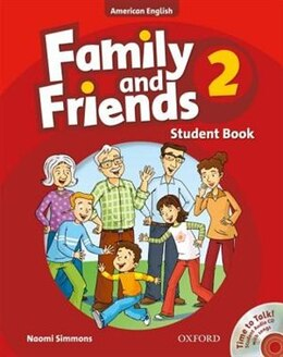 Book Family and Friends American Edition: Level 2 Course Book and Student CD Pack by Naomi Simmons