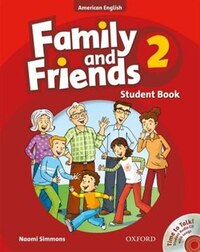 Family and Friends American Edition: Level 2 Course Book and Student CD Pack