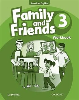 Book Family and Friends American Edition: Level 3 Workbook by Naomi Simmons