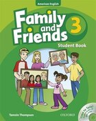 Family and Friends American Edition: Level 3 Course Book and Student CD Pack