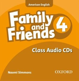 Book Family and Friends American Edition: Level 4 Class CD by Naomi Simmons