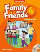 Family and Friends American Edition: Level 4 Course Book and Student CD Pack