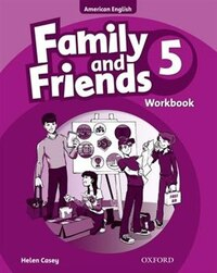 Family and Friends American Edition: Level 5 Workbook