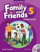 Family and Friends American Edition: Level 5 Course Book and Student CD Pack