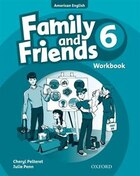 Family and Friends American Edition: Level 6 Workbook