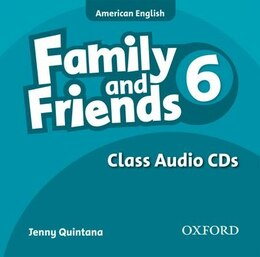 Book Family and Friends American Edition: Level 6 Class CD by Naomi Simmons