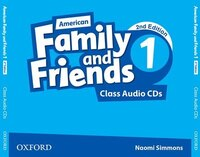 American Family and Friends: Level 1 Class Audio CDs: Supporting all teachers, developing every…