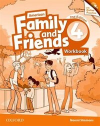 American Family and Friends: Level 4 Workbook with Online Practice: Supporting all teachers…