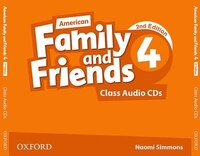 American Family and Friends: Level 4 Class Audio CDs: Supporting all teachers, developing every…