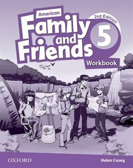 Book American Family and Friends: Level Five Workbook: Supporting all teachers, developing every child by Naomi Simmons