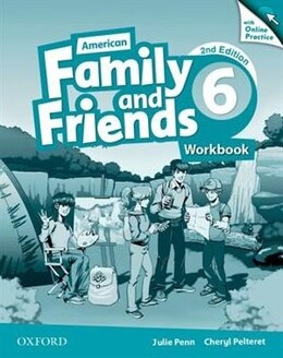 Book American Family and Friends: Level Six Workbook with Online Practice: Supporting all teachers… by Naomi Simmons