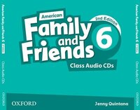 American Family and Friends: Level 6 Class Audio CDs: Supporting all teachers, developing every…