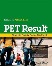 Pet Result Student Book/online Work Book Pack