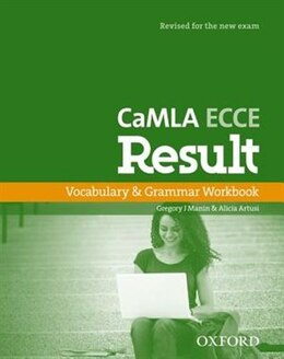 Book CaMLA ECCE Result New Edition: Vocabulary and Grammar Workbook by Gregory J. Manin