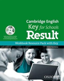 Book Cambridge English: Key for Schools Result: Workbook Resource Pack with Key by Jenny Quintana