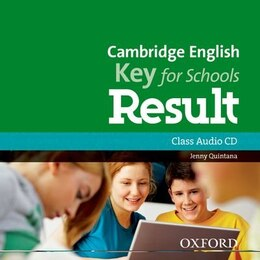 Book Cambridge English: Key for Schools Result: Class Audio CD by Jenny Quintana