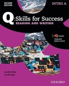 Q Skills for Success: Intro Level Reading and Writing Split Student Book A with iQ Online