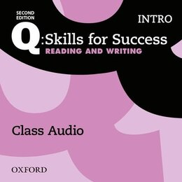 Book Q: Skills for Success: Intro Level Reading and Writing Class Audio CD (x1) by Oxford