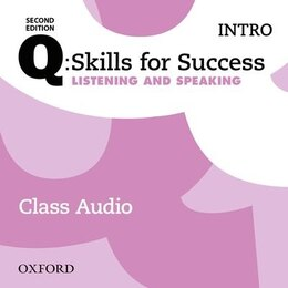 Book Q: Skills for Success: Intro Level Listening and Speaking Class Audio CD (x2) by Oxford