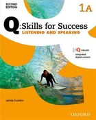 Q Skills for Success: Level 1 Listening and Speaking Split Student Book A with iQ Online