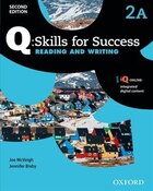 Q Skills for Success: Level 2 Reading and Writing Split Student Book A with iQ Online